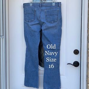Old Navy size 16 Sweatheart Jeans